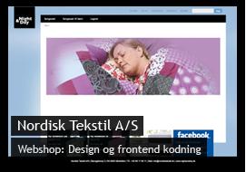 Eksempel på design til Nordisk Tekstil