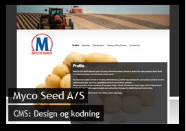 Hjemmeside til Slagter Knag
