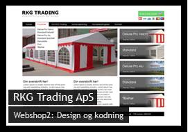 Billigt webshop design